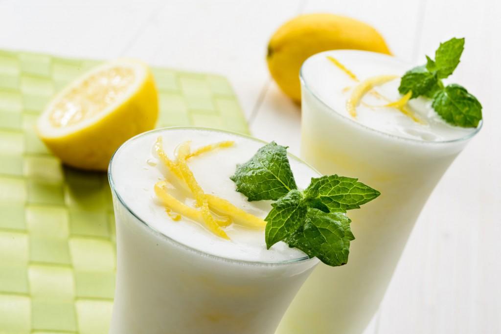 sorbetto limone e menta