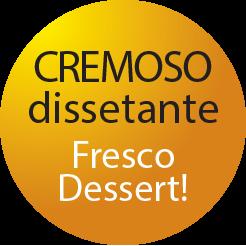 sorbetto fresco dessert