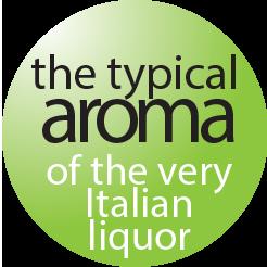 sorbet typical aroma lemoncello